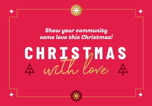 Share the love this Christmas